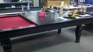 Wood Pool Table Dining Room Minimalist Pool Table Design Ideas White Color Made Of