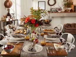 charming relaxed thanksgiving table above beyondabove