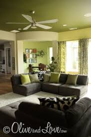 Ceiling Colors For Living Room Green Living Room Furniture Endearing Living Room Ceiling Colors