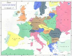 Historical Maps Of Europe by Department Of History Wwi