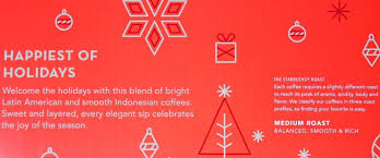 starbucks 2017 holiday blend medium roast 60 single cup coffee