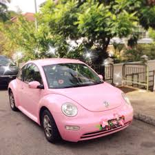 volkswagen singapore pink volkswagen beetle for rent
