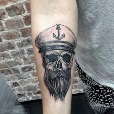 sailor skull by steve inglorious steve tatuering skull