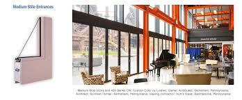 Interior Storefront Tubelite Inc Tubelite Inc Architectural Aluminum Storefront