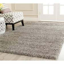 safavieh milan shag gray 8 ft x 10 ft area rug sg180 8080 8