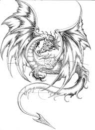 chinese dragon drawings medieval dragon coloring pages