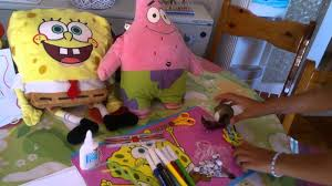 how to make spongebob muppet by joanna youtube