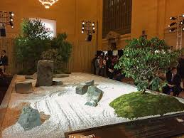 catch a japanese zen garden inside grand central terminal for
