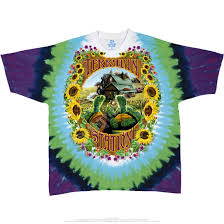 How To Tie Dye An American Flag Grateful Dead Terrapin Station Tie Dye T Shirt Tee Liquid Blue
