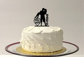 loving embrace silhouette wedding cake topper personalized family
