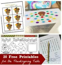 27 free thanksgiving activities printable edventures