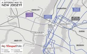 Hudson River Map New Hudson River Crossing In New York City Part Ii Sustainable