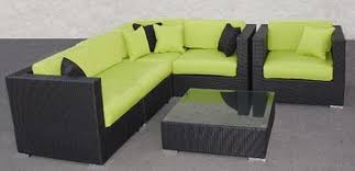 exterior design awesome wicker furniture cushions with green