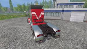 2016 kenworth t2000 w900 v2 0 for farming simulator 2015