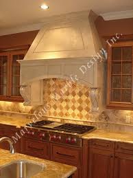 kitchen range hoods white kitchen with wood range hood french