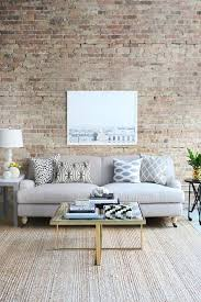 Beige And Grey Living Room Amazing Living Room Couch Brick Wall Light Grey Couch Golden Leg