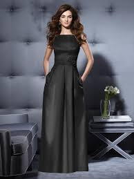 black bridesmaid dresses find gorgeous floor length black dresses from dessy at the wedding