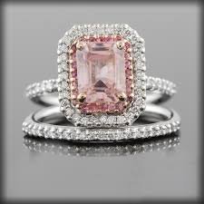 Pink Diamond Wedding Rings by Pink Diamond Rings For Women Eternity Jewelry