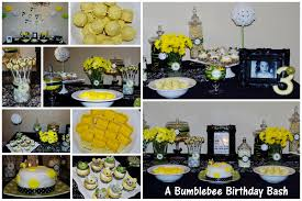 bumblebee decorations a bumblebee birthday bash celebrate every day with me