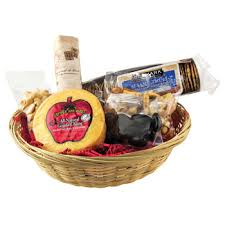 Cheese And Cracker Gift Baskets Gift Baskets Wildman Imprints