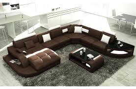 canapé 10 places canape 10 places canap d 39 angle en cuir italien 8 places nordik