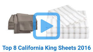 top 8 california king sheets of 2016 video review