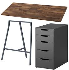 two person desk ikea two person desk and gallery wall project palermo
