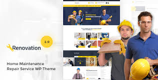 renovation theme renovation v2 0 1 home maintenance repair service theme premium