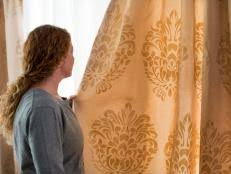 Make Curtains From Sheets Make Curtains Out Of Bed Sheets Hgtv