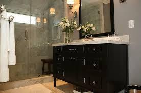 Espresso Bathroom Storage Bathrooms With White Cabinets Bathrooms With Single Vanity