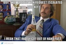 Ron Burgundy Meme - this ron burgundy meme escalated quickly ron best of the funny meme