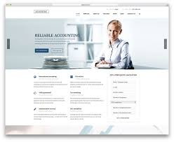 17 best financial company wordpress themes for consulting and