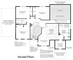 Master Bedroom Suites Floor Plans Parkview At Warrington The Duke Home Design