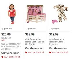 target black friday specials onl8ne target black friday online bogo50 our generation 18