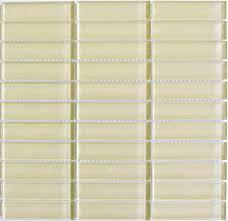 1 x 4 inch rectangle glass backsplash tiles by lush modwalls tile