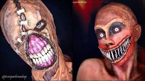 Halloween Scary Face Makeup 30 Scariest U0026 Creepiest Halloween Makeup Ideas Ever By Jessica