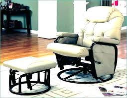 Fabric Glider Recliner With Ottoman Glider Recliner With Ottoman Etechconsulting Co