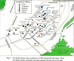 South China Sea Map Carlosa Carlosascsinfo Twitter