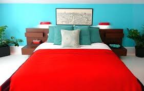red and blue bedroom blue and red bedroom bedroom bronze paint metal frame bed modern