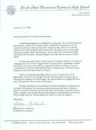 reference sample letter