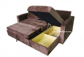 Couch Sleeper Sofa by Sleeper Sofa With Chaise And Storage Foter