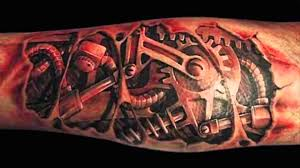 best 3d robotic tattoos hd youtube