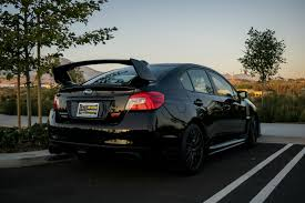 2017 subaru wrx stance all black subaru auto express