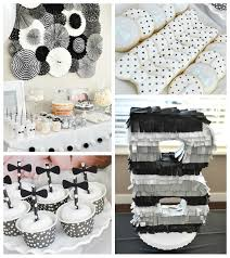 black tie party favors kara s party ideas black white bow tie themed birthday party