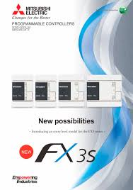 fx3s brochure mitsubishi electric automation pdf catalogue
