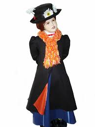 Nanny Halloween Costume Custom Boutique Halloween Mary Poppins Nanny Girls Size Costume