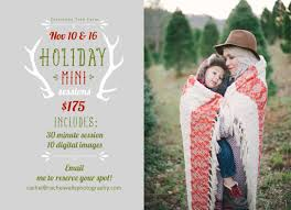holiday mini sessions at a christmas tree farm wedding