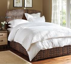 Pottery Barn Iron Bed The All White Bedding Most Popular Seller At Pb It Even Looks