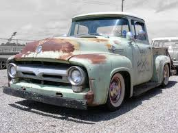 Classic Ford Truck Lowering Kits - 56 ford hauler great project truck automotive pinterest