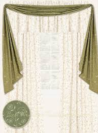 Fishtail Swag Curtains Garden Valley Fishtail Swag Window Topper